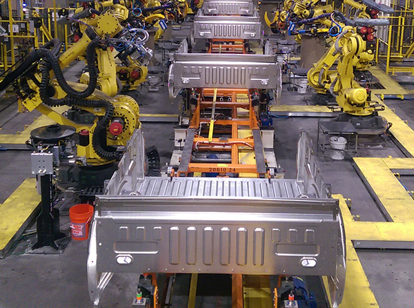 Manufacturing Plant for Motor Vehicles