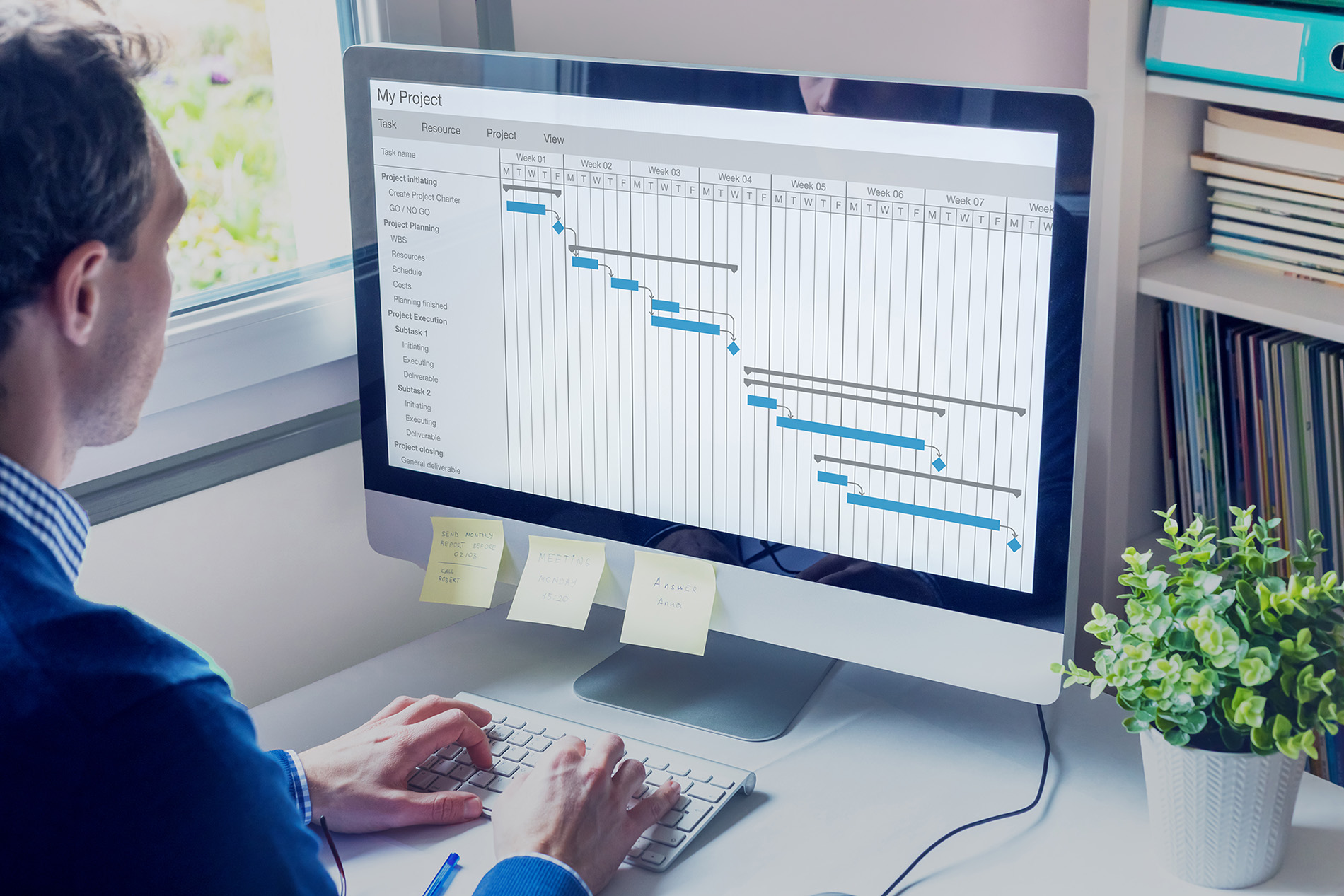 Scheduling for production planning and shop floor scheduling